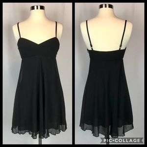 BCBGMaxAzaria Little Black Dress Sz:petite 0
